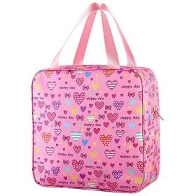 Poonikuu化粧品バッグ ラブシリーズ トイレタリーバッグ バスルームポーチ 洗面用具入れ 小物収納 出張旅行アウトドア レディース