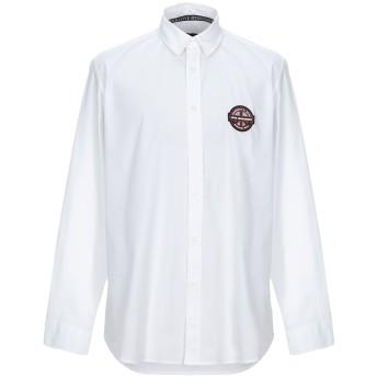 《セール開催中》LOVE MOSCHINO メンズ シャツ ホワイト XS コットン 97% / ポリウレタン 3%