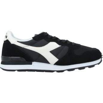 《セール開催中》DIADORA メンズ スニーカー&テニスシューズ(ローカット) ブラック 7 革 / 紡績繊維