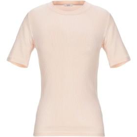 《セール開催中》PESERICO レディース T シャツ ライトピンク 40 レーヨン 98% / ポリウレタン 2% / シルク