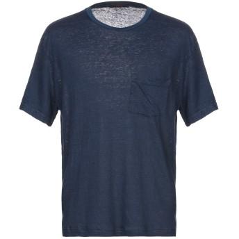 《セール開催中》THE GIGI メンズ T シャツ ダークブルー XL 麻 100%