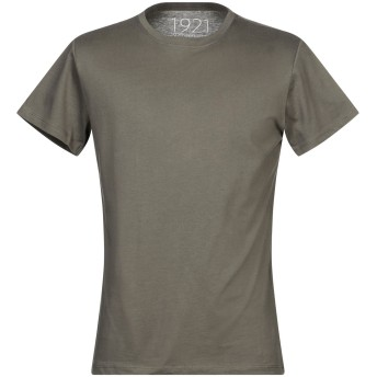 《セール開催中》1921 メンズ T シャツ ミリタリーグリーン L コットン 100%
