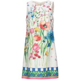 《セール開催中》BLUGIRL BLUMARINE レディース ミニワンピース&ドレス ホワイト 38 ポリエステル 60% / コットン 40%