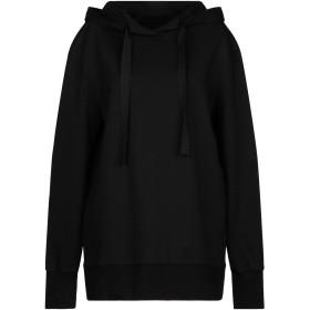 《セール開催中》MARCO BOLOGNA レディース スウェットシャツ ブラック 40 コットン 100%