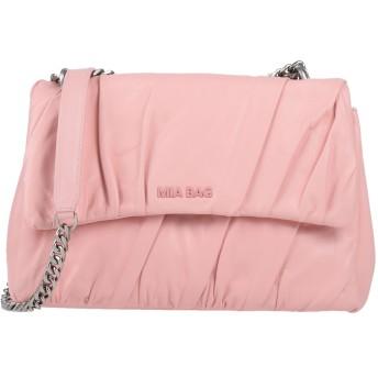 《セール開催中》MIA BAG レディース メッセンジャーバッグ ピンク 革