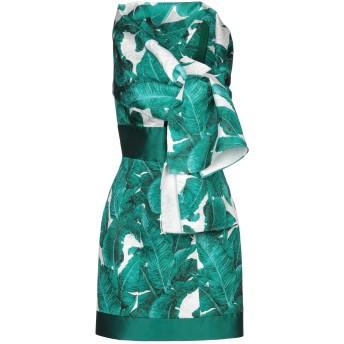 《セール開催中》MIKAEL レディース ミニワンピース&ドレス グリーン 6 ポリエステル 100%