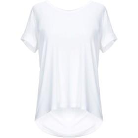 《期間限定セール開催中!》MAJESTIC FILATURES レディース T シャツ ホワイト 2 レーヨン 94% / ポリウレタン 6%