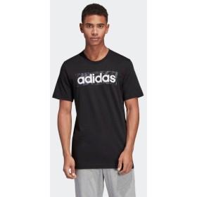 セール価格 アディダス公式 ウェア トップス adidas M CORE リニアロゴボックスグラフィックTシャツ