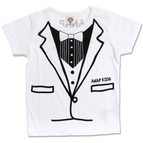 【ANAP:トップス】タキシードプリントTシャツ