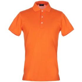 《セール開催中》PAUL & SHARK メンズ ポロシャツ オレンジ M コットン 100%