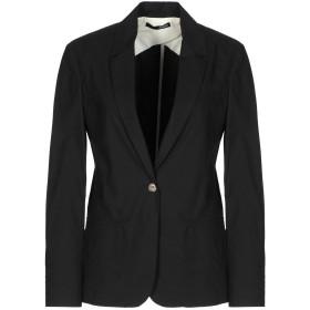 《期間限定セール開催中!》.TESSA レディース テーラードジャケット ブラック 40 コットン 100%