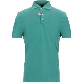 《セール開催中》DELLA CIANA メンズ ポロシャツ グリーン 48 コットン 100%