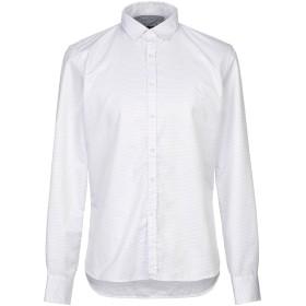 《期間限定セール開催中!》INDIVIDUAL メンズ シャツ ホワイト L コットン 60% / ポリエステル 40%