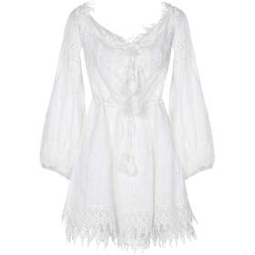 《期間限定セール開催中!》GADO GADO by MARGRIET WAGERAAR レディース ミニワンピース&ドレス ホワイト M コットン 100%