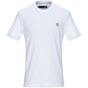 《セール開催中》LOVE MOSCHINO メンズ T シャツ ホワイト XS コットン 95% / ポリウレタン 5%