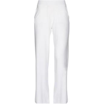 《セール開催中》P.A.R.O.S.H. レディース パンツ ホワイト XS コットン 85% / カシミヤ 15%