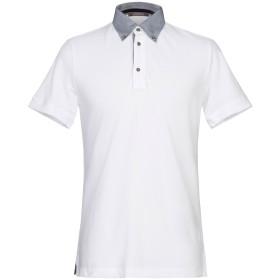 《セール開催中》ANDREA FENZI メンズ ポロシャツ ホワイト 48 コットン 100%