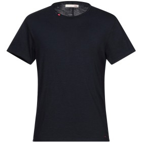 《セール開催中》TRZ メンズ T シャツ ダークブルー S コットン 100%