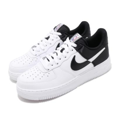 品牌: NIKE 型號: BQ4420-100 Air Force 1 07 特點: 經典款 AF1 球鞋 色塊拼接 穿搭 NBA 白 黑