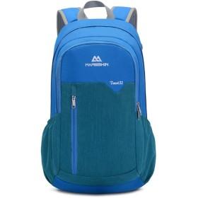 アウトドアスポーツバッグトラベルバックパック登山バッグ防水ショルダーバッグ,青