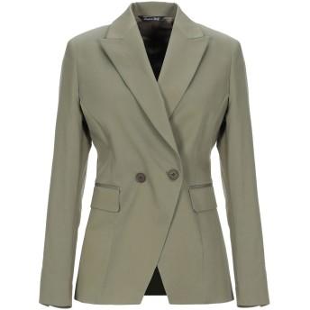 《セール開催中》BRIAN DALES レディース テーラードジャケット ミリタリーグリーン 40 コットン 97% / ポリウレタン 3%