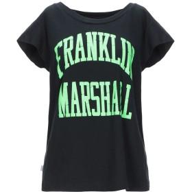 《セール開催中》FRANKLIN & MARSHALL レディース T シャツ ブラック S コットン 100%