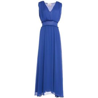 《セール開催中》MARIUCCIA レディース ロングワンピース&ドレス ブルー XS ポリエステル 100%