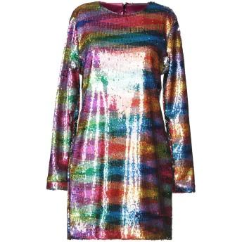 《セール開催中》ALCOOLIQUE レディース ミニワンピース&ドレス フューシャ 42 ポリエステル 100%