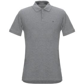 《セール開催中》CALVIN KLEIN JEANS メンズ ポロシャツ グレー S コットン 100%