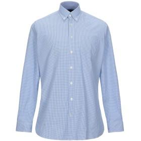 《セール開催中》HACKETT メンズ シャツ ブルー S コットン 100%