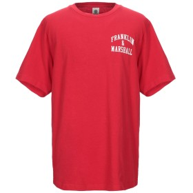 《セール開催中》FRANKLIN & MARSHALL メンズ T シャツ レッド XXS コットン 100%
