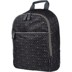 《期間限定セール開催中!》BALLY メンズ バックパック&ヒップバッグ ブラック 紡績繊維