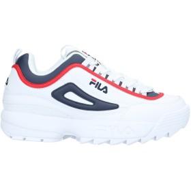 《期間限定セール開催中!》FILA メンズ スニーカー&テニスシューズ(ローカット) ホワイト 42 ゴム / 紡績繊維
