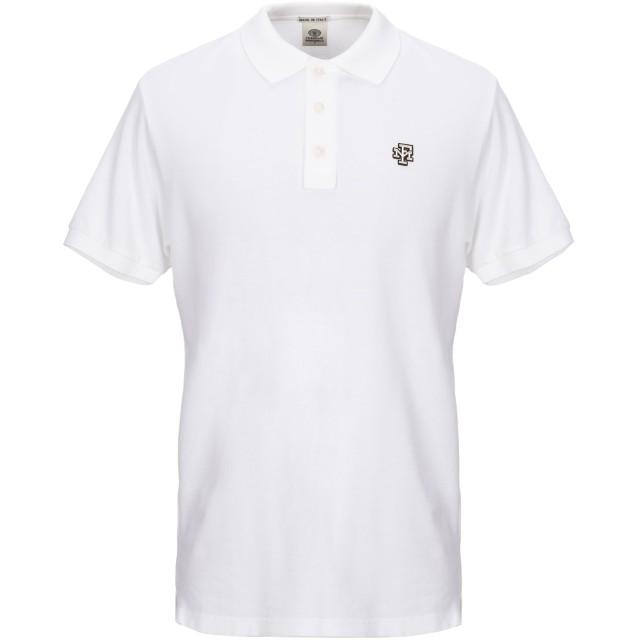 《セール開催中》FRANKLIN & MARSHALL メンズ ポロシャツ ホワイト XS コットン 100%