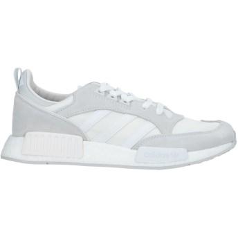 《セール開催中》ADIDAS メンズ スニーカー&テニスシューズ(ローカット) ライトグレー 8 紡績繊維 / 革