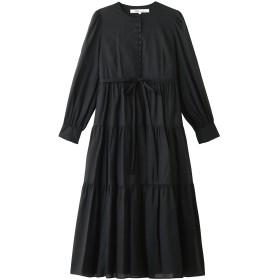 Bilitis dix-sept ans ビリティス・ディセッタン ティアードドレス(プレーン) ブラック