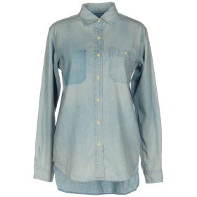 《期間限定セール開催中!》DENIM & SUPPLY RALPH LAUREN レディース デニムシャツ ブルー XS コットン 100%
