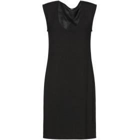 《セール開催中》B.YU レディース ミニワンピース&ドレス ブラック XS アクリル系 88% / ポリウレタン 12%