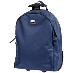 《セール開催中》DOLCE & GABBANA ボーイズ 3-8 歳 キャスター付きバッグ ブルー ポリエステル 90% / 羊類革 10%