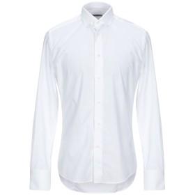 《期間限定セール開催中!》BRIAN DALES メンズ シャツ ホワイト 40 コットン 100%