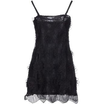 《セール開催中》CRISTINAEFFE レディース ミニワンピース&ドレス ブラック 48 ポリエステル 100%