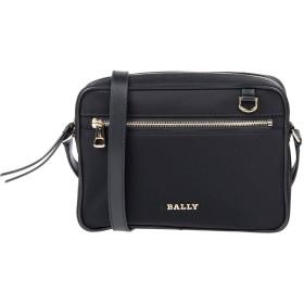 《セール開催中》BALLY レディース メッセンジャーバッグ ブラック 紡績繊維