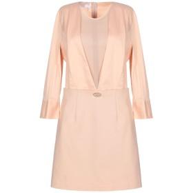 《期間限定セール開催中!》PASSEPARTOUT DRESS by ELISABETTA FRANCHI CELYN b. レディース ミニワンピース&ドレス あんず色 44 ナイロン 48% / コットン 45% / ポリウレタン 7%