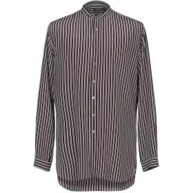 《期間限定セール開催中!》POLO RALPH LAUREN メンズ シャツ ブラック XS シルク 100%