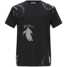 《期間限定セール開催中!》BIKKEMBERGS メンズ T シャツ ブラック XS コットン 95% / ポリウレタン 5%