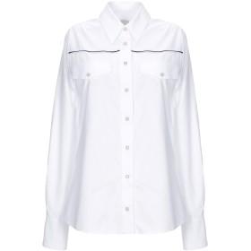 《期間限定セール開催中!》,MERCI レディース シャツ ホワイト S コットン 100%