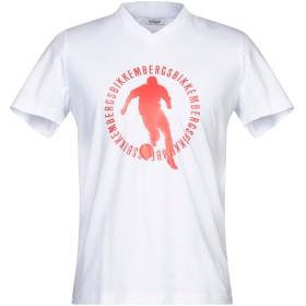 《期間限定セール開催中!》BIKKEMBERGS メンズ T シャツ ホワイト XS コットン 95% / ポリウレタン 5%