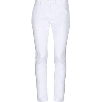 《セール開催中》PAOLONI レディース パンツ ホワイト 31 コットン 97% / ポリウレタン 3%