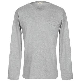 《セール開催中》MA'RY'YA メンズ T シャツ グレー S コットン 100%