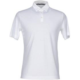 《セール開催中》ZANONE メンズ ポロシャツ ホワイト 58 コットン 100%